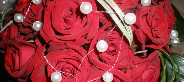 Aranžmány - kvetinová väzba, dušičky, vianoce